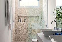 pasta de banheiros decorado