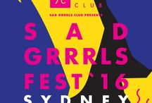 Sad Grrrls Fest Sydney 2016 / Sad Grrrls Fest Sydney 2016 - Saturday October 8th at the Factory Floor, Marrickville