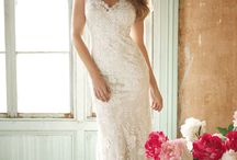 Wedding dresses and hairdos