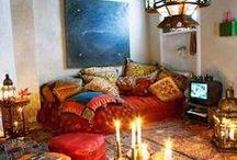 hippie style room
