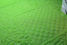 Free Motion Quilting / Samples and ideas