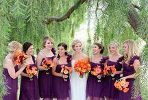 Purples / purple wedding ideas and inspiration