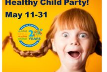 Virtual Healthy Child Party / Join Healthy Home Magazine for a Healthy Child Party filled with tips resources for creating a safer, healthier home for our kids.  / by Healthy Home Magazine