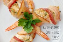 Paleo Seafood Recipes / Delicious fish, clam, and prawn recipes for your Paleo meal planning! Find more on www.PopularPaleo.com
