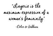 Lingerie quotes
