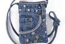сумочки из джинсы