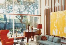 60s style living room