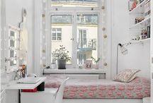 Narrow bedroom / wąska sypialnia