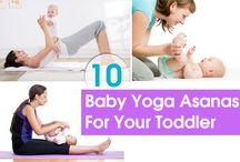 baby yoga!