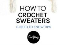 How to crochet sweaters