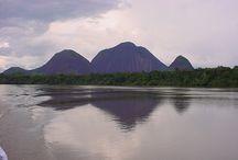 Turismo en el guainia / El turismo de mi tierra hermosa guainia