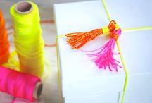 Gift wrapping / Leuke ideeën om kadootjes in te pakken