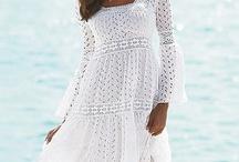 туники и платья лето