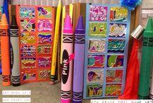 Art Show / ideoita kuvis näyttelyyn
