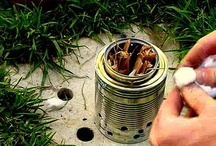 Ultralight Alcohol Backpacking Stoves / Ultralight backpacking alcohol stoves.