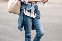Street style / Fresh casual looks