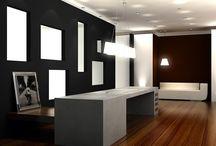 Office für Marketing in Düsseldorf / Entwurf, Gesamtkonzept, Planung & Bauaufsicht bei Carine Stelte Designs