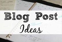 Blogging Tips 'n' Tricks