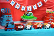Train party decorations