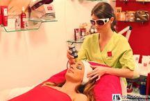Salon treatments / Guinot facial and body treatments in Budapest, Hungary.