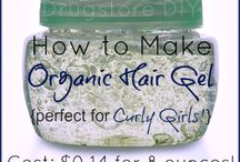 homemade hair gel