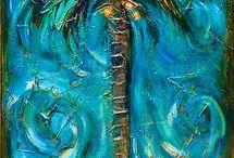 (沙)椰子の木