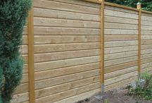 idée clôture de jardin