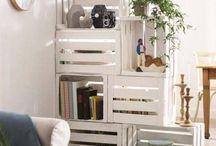 meuble étagère cloison