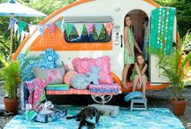Camp in hippy