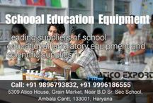 School Educational Instruments / Do you want any type of colleges or School Educational Instruments for labs? Then contact to Atico Export.  Phone: +919896793832, +919996186555  Email Id: sales@aticoexport.com, chopra@aticoexport.com  Website: https://www.aticoexport.com  Address: Atico House, 5309, Grain Market, Ambala Cantt, Haryana Facebook page: https://www.facebook.com/AticoExport Twitter page: https://twitter.com/AticoExport