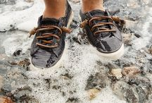 Salty Sneakers. / by Sperry
