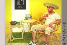 Combineren met tafeltjes van Trend100.nl