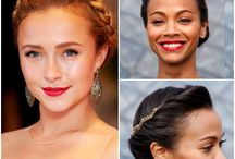 Celebrity Hairspiration / A board of our favorite celebrities rocking textured hair! Because curls, coils, and waves are ALWAYS red carpet worthy.