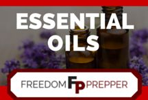Essential Oils / Using essential oils to better your health and your food from the writers of Freedom Prepper.