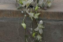 Dråbeformet brudebuket