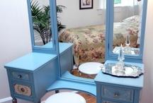 Vanity and dressing tables / by lisa brown