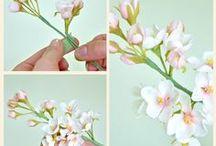 flores en azucar