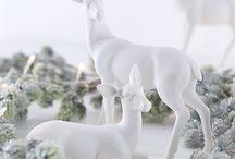 Karácsony - Őzikék, szarvaska