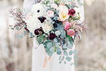 wedding- bride flowers