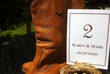 Country and Western Wedding