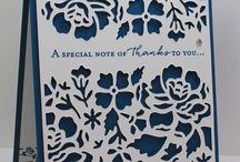 Detailed Floral Thinlets / Birth, wedding, birthdays
