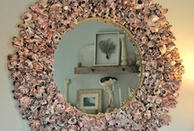 mirrors with shells