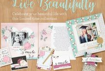 National Scrapbooking Month 2017 - Live Beautifully