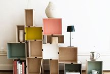 abode: interior mess / organization and prettiness and suches