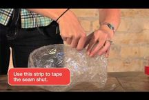 packing tape sulpture