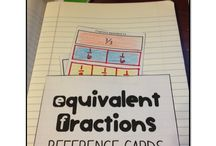 Math- Equivalent Fractions / by Ms. Holle