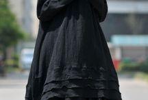 Dark mori / Dark mori girl fashion, natural comfy goth, oracle goth, femme strega