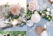 Hochzeitskonzept rose and serenity