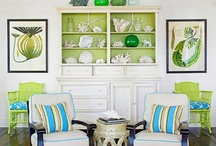 Teal and lime ideas