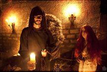 """El cau de les ànimes / Recreació del mite jueu """"Samael, l'àngel de la mort"""".- Recreación del mito judío """"Samael, el ángel de la muerte"""".-"""